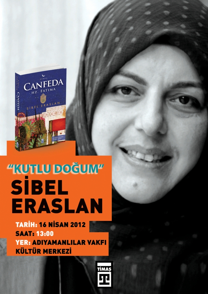 Gazeteci-Yazar Sibel Eraslan 16 Nisan da Adıyamanlılar Vakfında