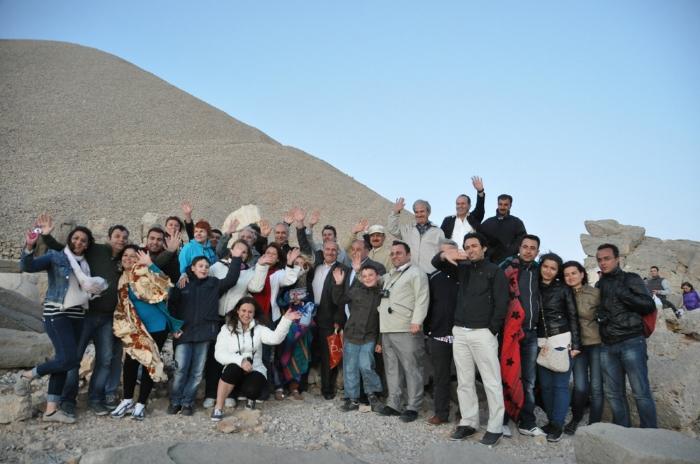 Nemrut Tepesinde şiir festivali düzenledi