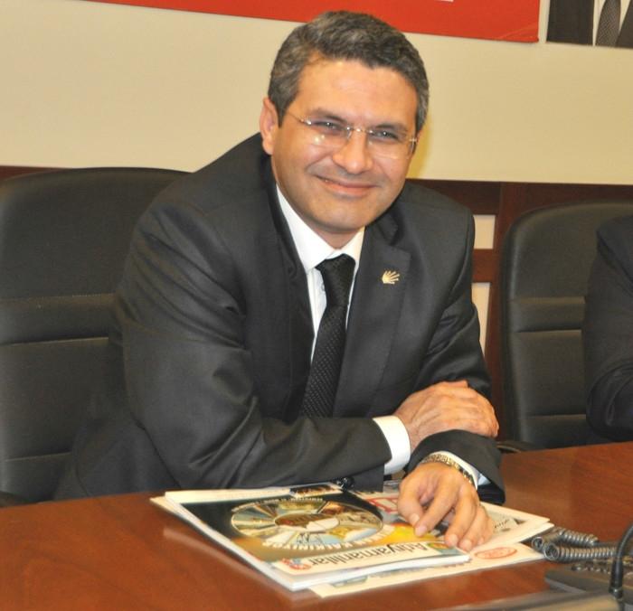 Adıyamanlı STK Başkanları CHP İstanbul İl Başkanı Salıcı yı Ziyaret Ettiler