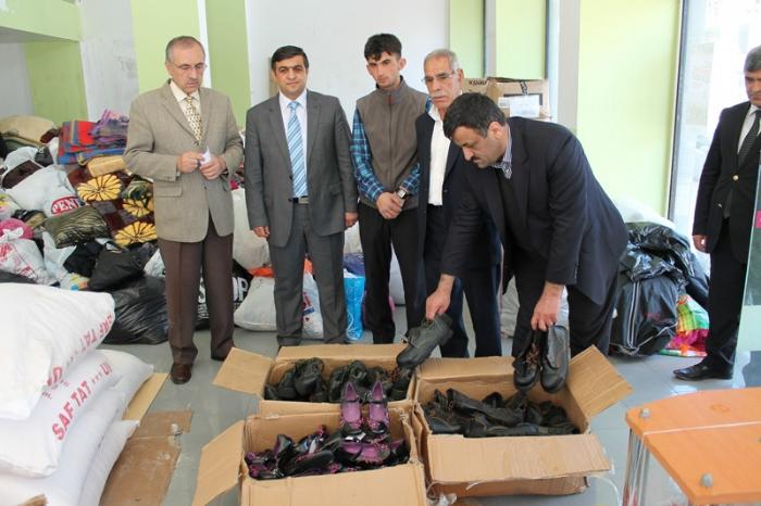 Suriye ye Ayakkabı Yardımı