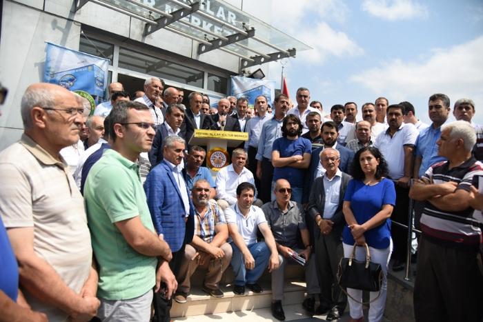 Adıyaman İçin Bir Tepki de İstanbul daki Adıyamanlı STK lar dan Geldi