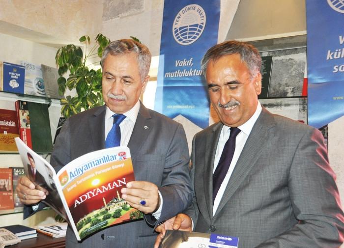 Başbakan Yardımcısı Arınç, Adıyamanlılar Dergisi ne Hayran Kaldı